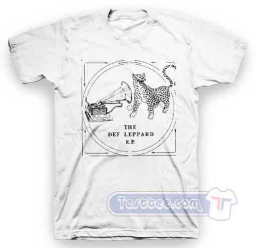 Def Leppard The Def Leppard E.P Tees