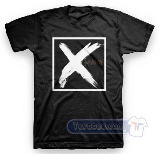 Def Leppard X Album Tees
