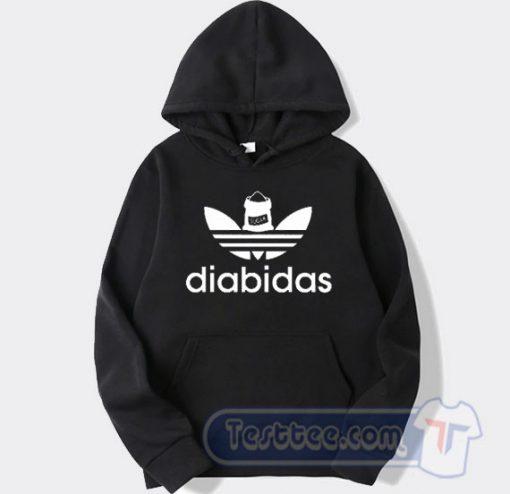 Diabidas Adidas Parody Hoodie