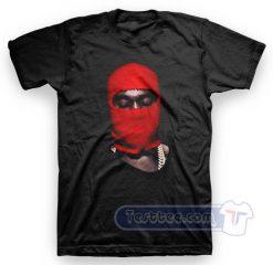Kanye West Yeezus Red Ski Mask Tee