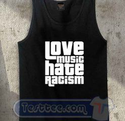 Love Music Hate Racism Tank Top