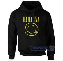Rihanna Nirvana Logo Hoodie