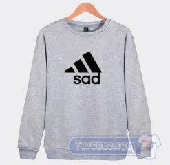 Sad Adidas Parody Sweatshirt