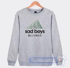 Sad Boys Adidas Parody Sweatshirt