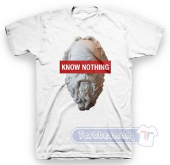 Socrates Know Nothing Tees