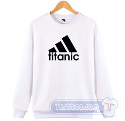Titanic Adidas Parody Sweatshirt