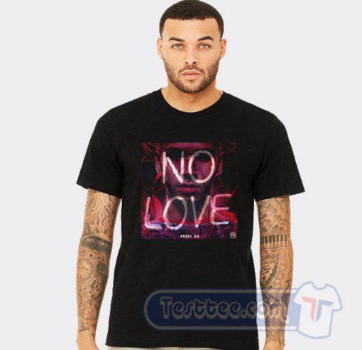 Anuel AA No Love Tees