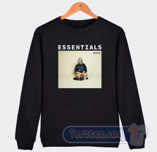 Billie Eilish Essentials On Apple Music Sweatshirt