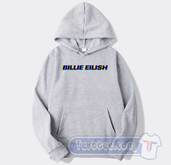 Billie Eilish Pop Art Hooded Sweatshirt