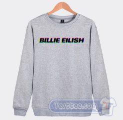 Billie Eilish Pop Art Sweatshirt