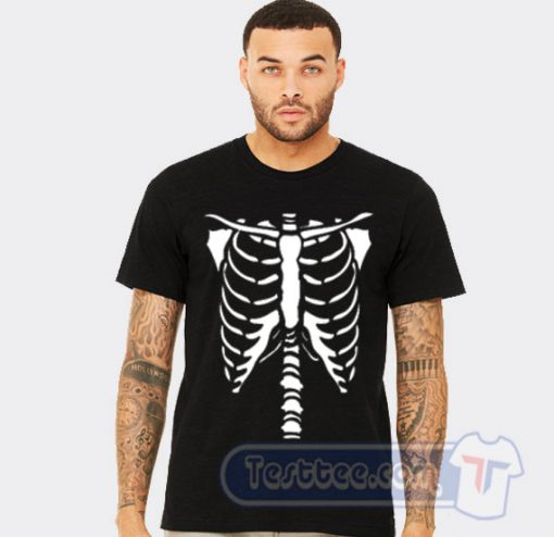 Bones Skeleton Halloween Tee