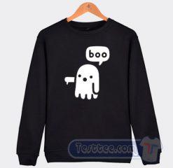 Boo Ghost Halloween Sweatshirt