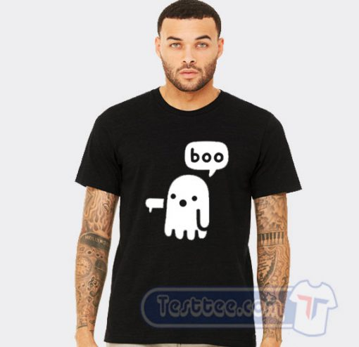 Boo Ghost Halloween Tee