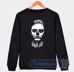 Evan Peters Skull Sweatshirt