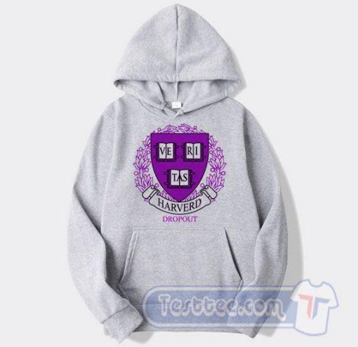 Harvard Dropout Logo Hoodie