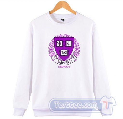 Harvard Dropout Logo Sweatshirt