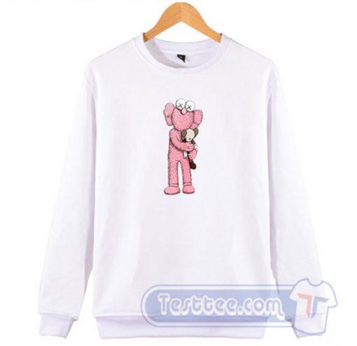 Kaws X Uniqlo Pink BFF Graphic Sweatshirt