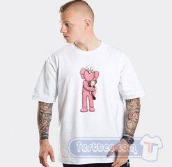 Kaws X Uniqlo Pink BFF Graphic Tees