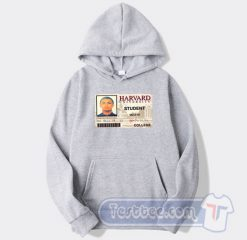 Lil Pump Harvard College Card Hoodie