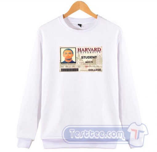 Lil Pump Harvard College Card Sweatshirt