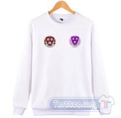 Lil Pump Harvard Dropout Logo Sweatshirt