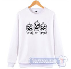 Pumpkin Trick Or Treat Sweatshirt
