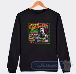 Punk Rock Halloween Show Sweatshirt
