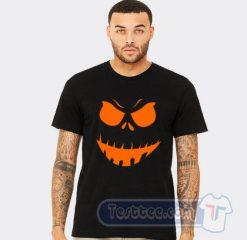 Scary Pumpkin Halloween Tee