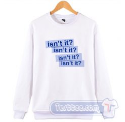 Taylor Swift Delicate Lyrics Sweatshirt