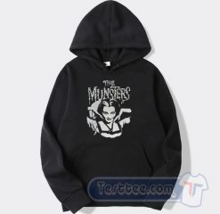 The Munster Lily Goth Punk Horror Hoodie