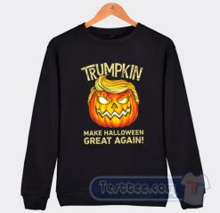 Trumpkin Halloween Sweatshirt