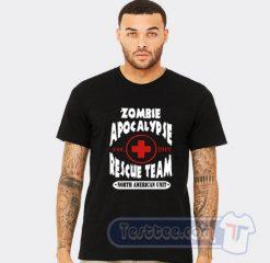 Zombie Apocalypse Rescue Team Tee