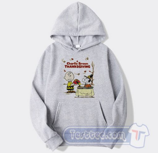 A Charlie Brown Thanksgiving Snoopy Hoodie