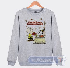 A Charlie Brown Thanksgiving Snoopy Sweatshirt