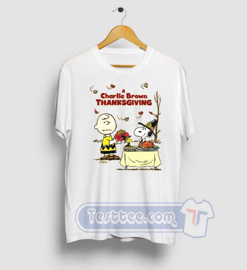 A Charlie Brown Thanksgiving Snoopy Tees
