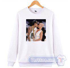 Cheap Amber Rose Kiss Wiz Khalifa Sweatshirt