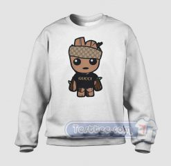 Baby Groot Monogram Graphic Sweatshirt