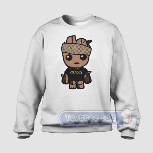 Baby Groot Monogram Graphic Sweatshirt