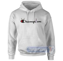 Big Chungus X Champion Parody Graphic Hoodie