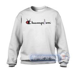 Big Chungus X Champion Parody Graphic Sweatshirt