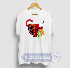 Chicago Sports Team Mashup Graphic Tees
