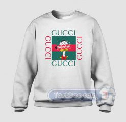 Donald Duck X Supreme Gucci Parody Sweatshirt