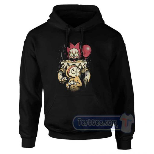 IT Rick And Morty Graphic Hoodie