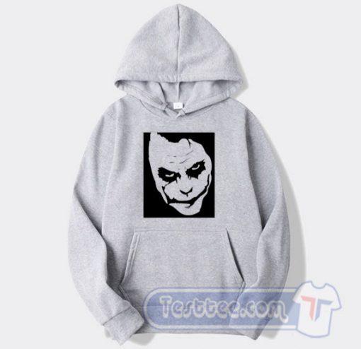 Cheap Graphic Joker Face Hoodie