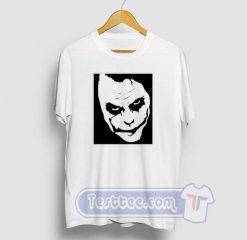 Cheap Graphic Joker Face Tee