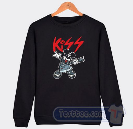 Mickey Mouse Kiss Style Sweatshirt