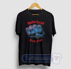 Motorhead Iron Fist Graphic Tees
