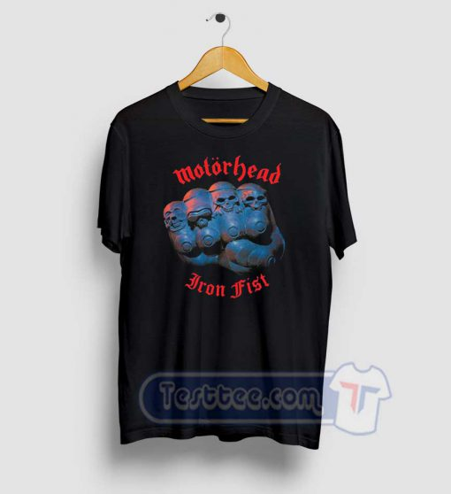 Motorhead Iron Fist Graphic Tees