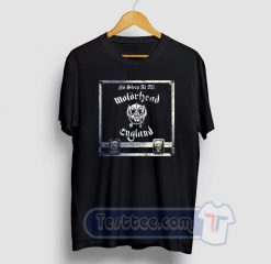Motorhead No Sleep At All Graphic Tees