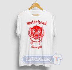 Motorhead Overkill Graphic Tees